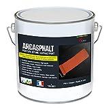 Arcasphalt Asphaltfarbe, Bodenfarbe für Bitumen, Asphalt, Teer, Straßendecke