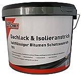 10 Liter Dachlack Isolieranstich Schutzanstrich auf Bitumenbasis