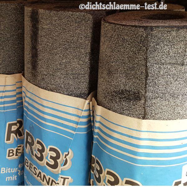 Bitumen Dachpappe verlegen R333 auf Gartenhaus