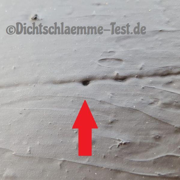 Bitumen Vergleich Loch
