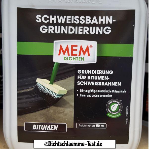 Extrem Bitumen Voranstrich an Dach & Bitumenschweißbahn notwendig? GP89