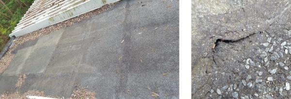 Bitumen Dachlack & Isolieranstrich Test